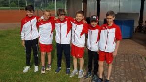 Knaben 12 Mannschaft - Aufsteiger 2016